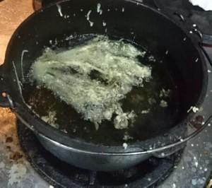 タラの芽天オーブン